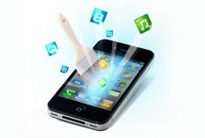 Приложение чистит айфон
