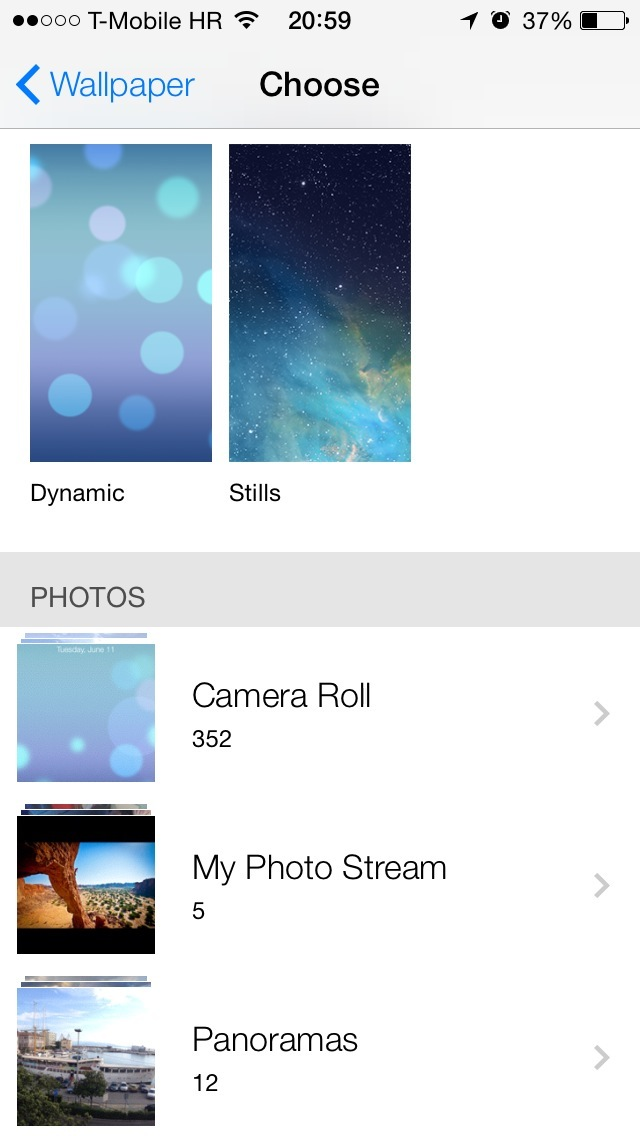Как сделать панораму на iphone 4 ios 7