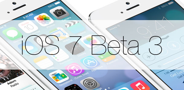 Отзывы пользователей iOS 7 beta 3 на iPhone и iPad: ошибки, «глюки» и преимущества