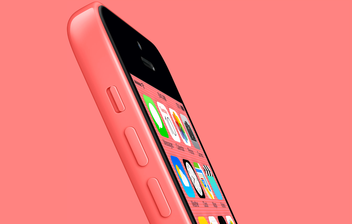 Iphone 5c wallpaper pink
