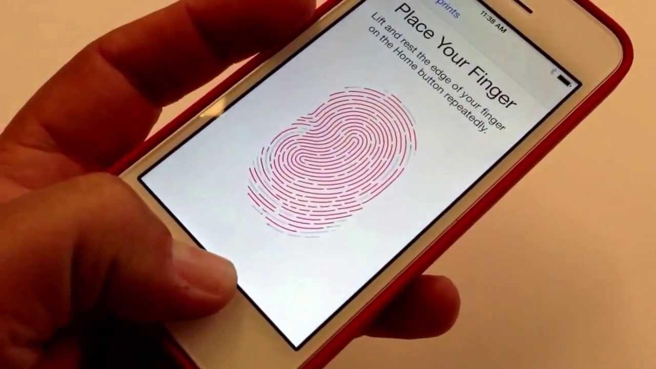 Touch ID: как работает сканер отпечатков пальцев в