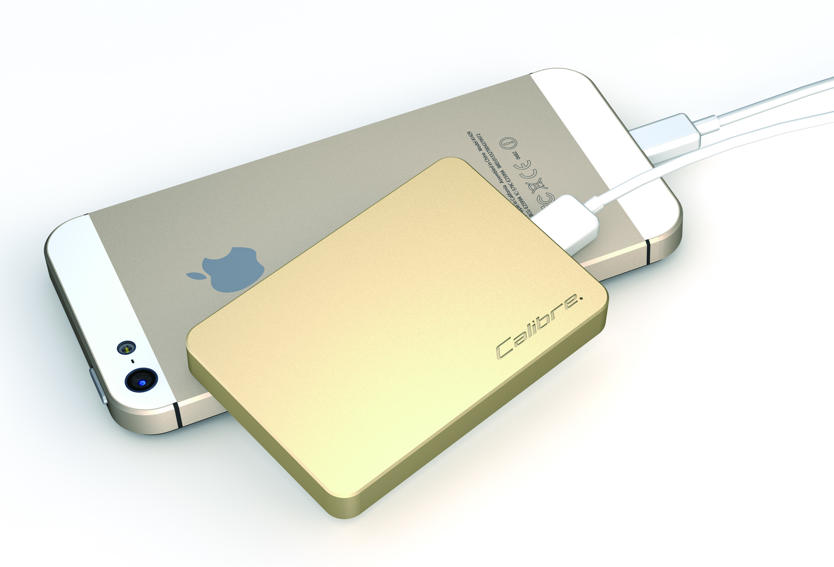 ULTRA'GO nano Gold with iPhone