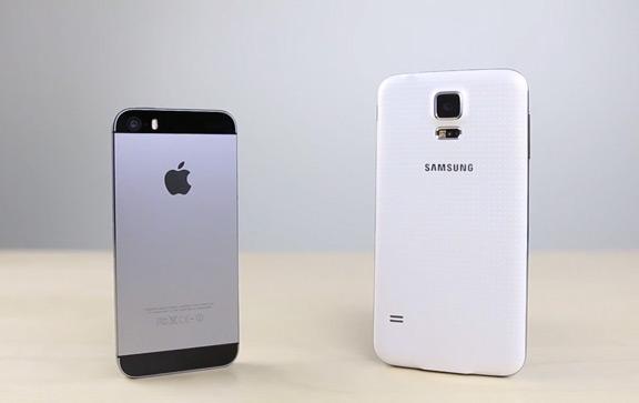 sravnenie-samsung-galaxy-s5-i-iphone-5s-byistrodeystvie