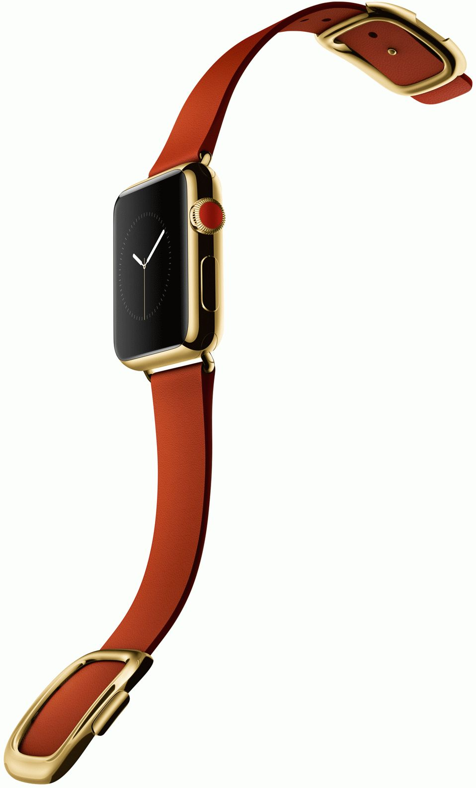 Apple-Watch-edition-gold-red-buckle