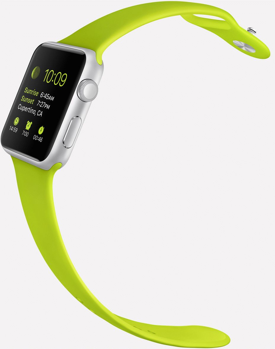 Apple-Watch-sport-green-band