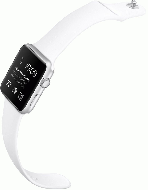 Apple-Watch-sport-white-band