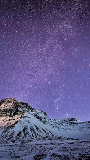 Snow-Mountain-Stars-Wallpaper-iPhone-6-Plus-preview
