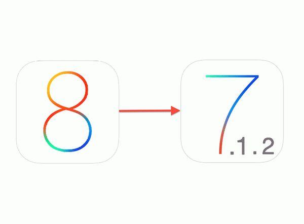 Как сделать откат (даунгрейд) с iOS 8 на iOS 7.1.2. Инструкция