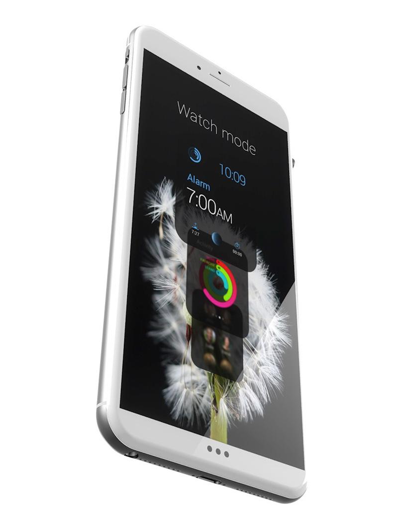 Серебристо-белый iPhone 6s