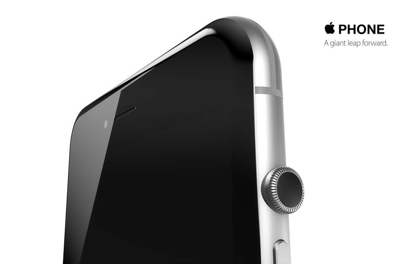 Digital Crown на iPhone 6s