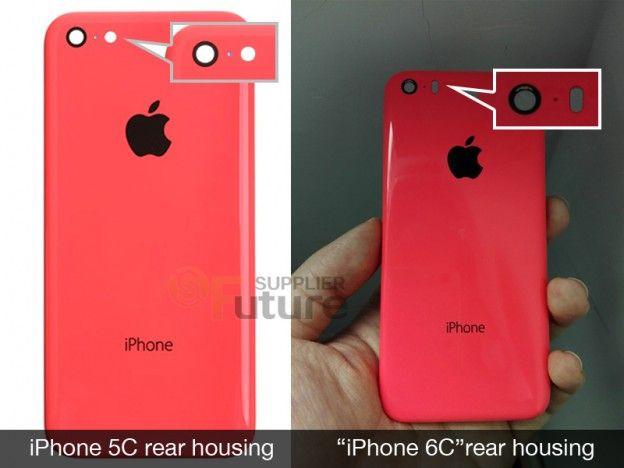 Красный iPhone 6c