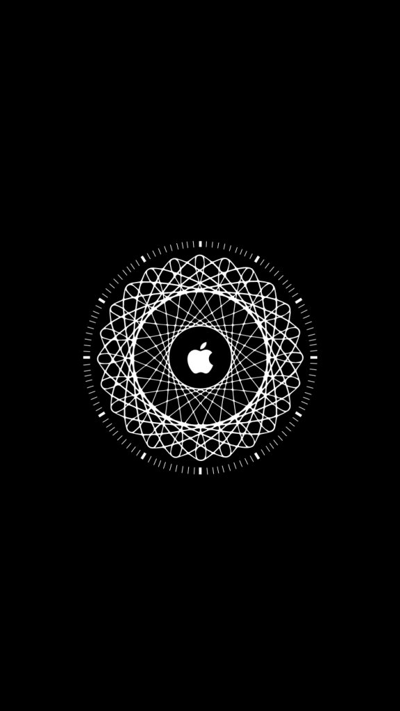 Обои в стиле Apple Watch