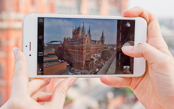 Съемка фото на iPhone 6