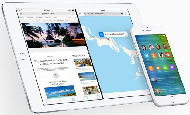 iPad Air 2 и iPhone 6