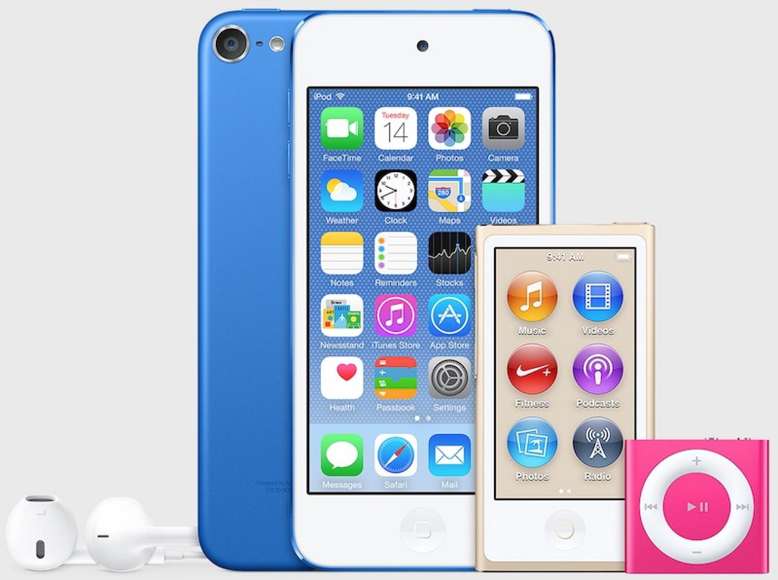 Apple решила напомнить про iPod