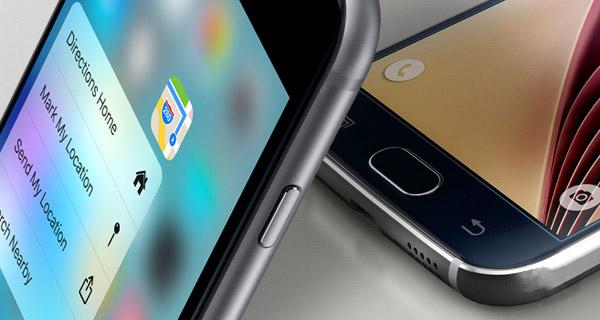 iPhone 6s и Galaxy S6