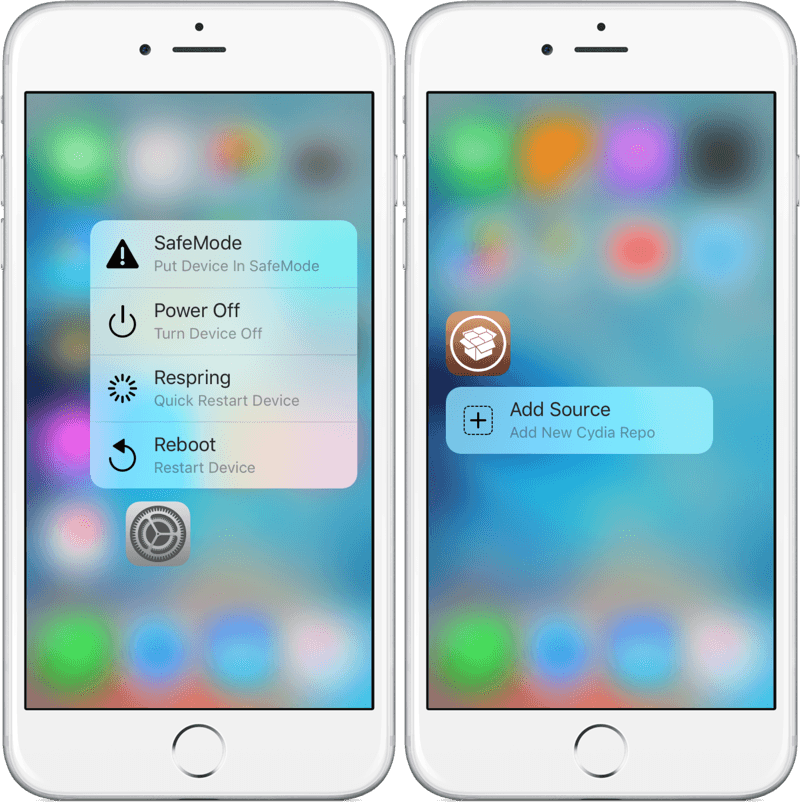 3D Touch Дисплей