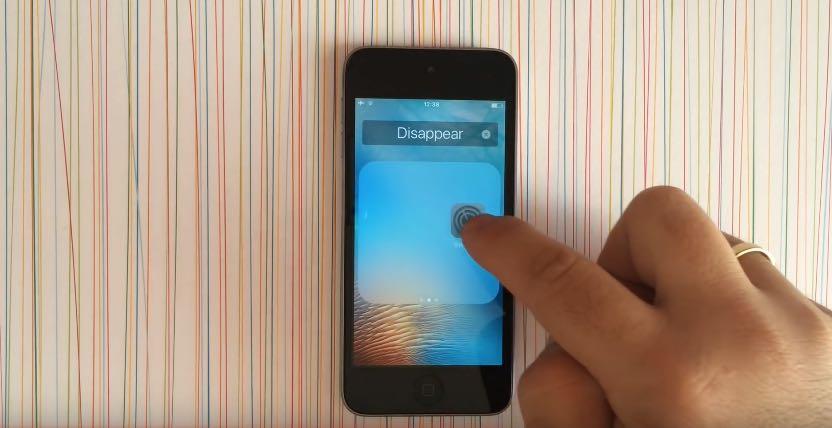 Папка на iPhone