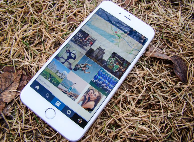 iPhone 6 и Instagram
