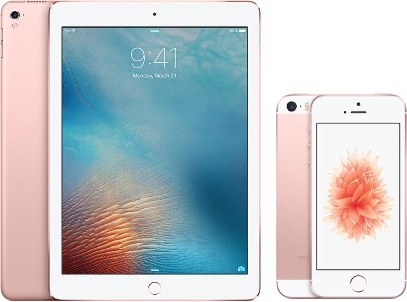 iPad Pro и iPhone SE