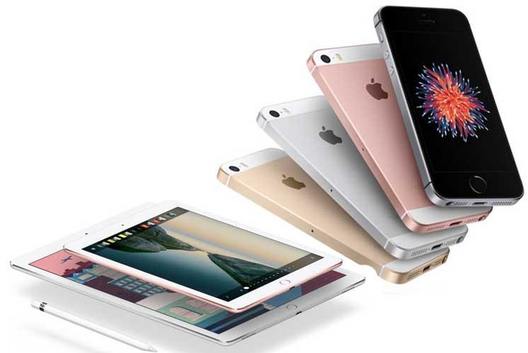 iPhone SE, iPad Pro