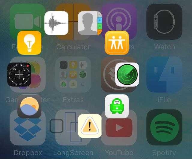 Папки на iOS