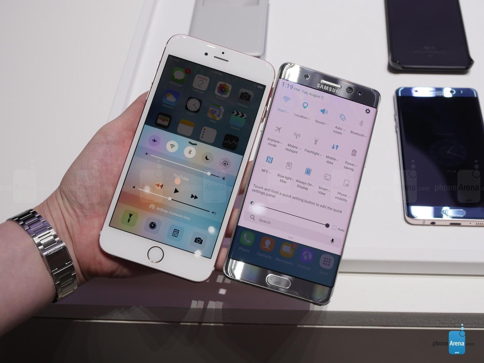 Samsung-Galaxy-Note-7-vs-Apple-iPhonge-6s-Plus