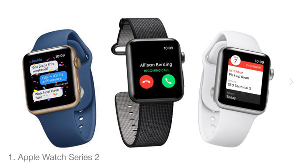 Apple Watch Series 2 - лучшие смарт часы 2016 года