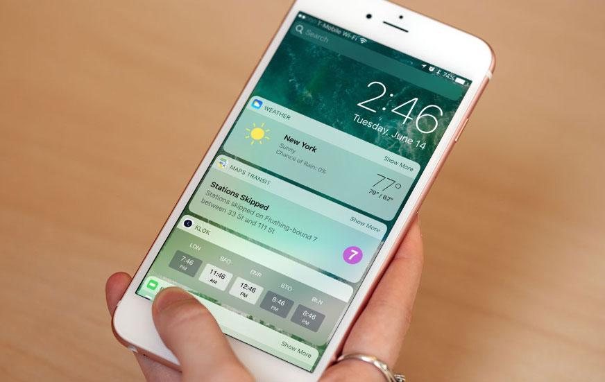Скачать iOS 10.2 beta 3