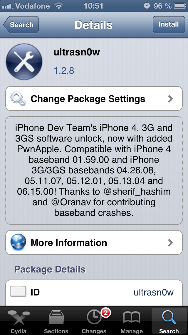 Download ultrasn0w for iphone 3gs.