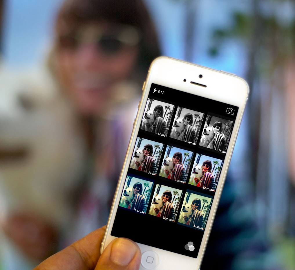 нее в каком фильтре получаются красивые фото айфон долго