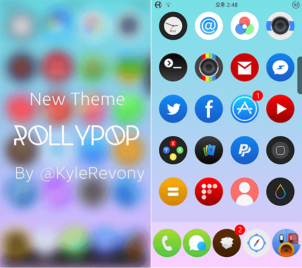 Rollypop-Theme