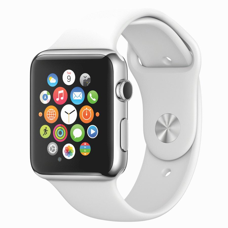 Было также получено подтверждение, что часы будут работать с новой системой apple pay , которая позволит проводить мобильные платежи, используя это устройство.