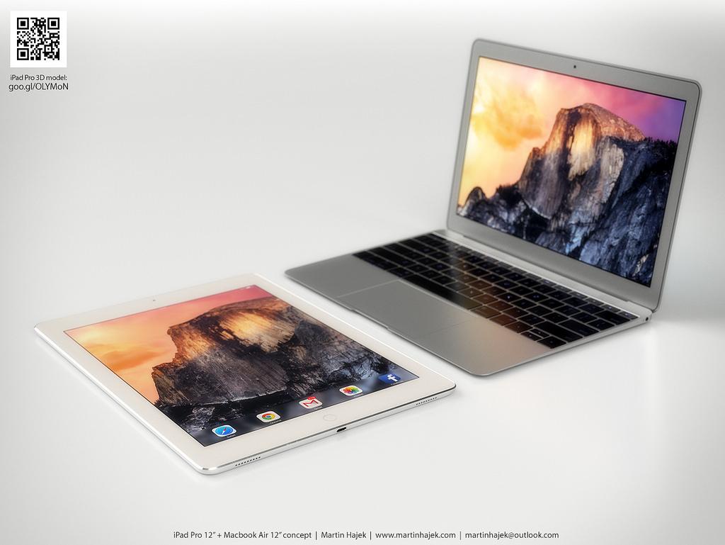 iPad Pro и MacBook