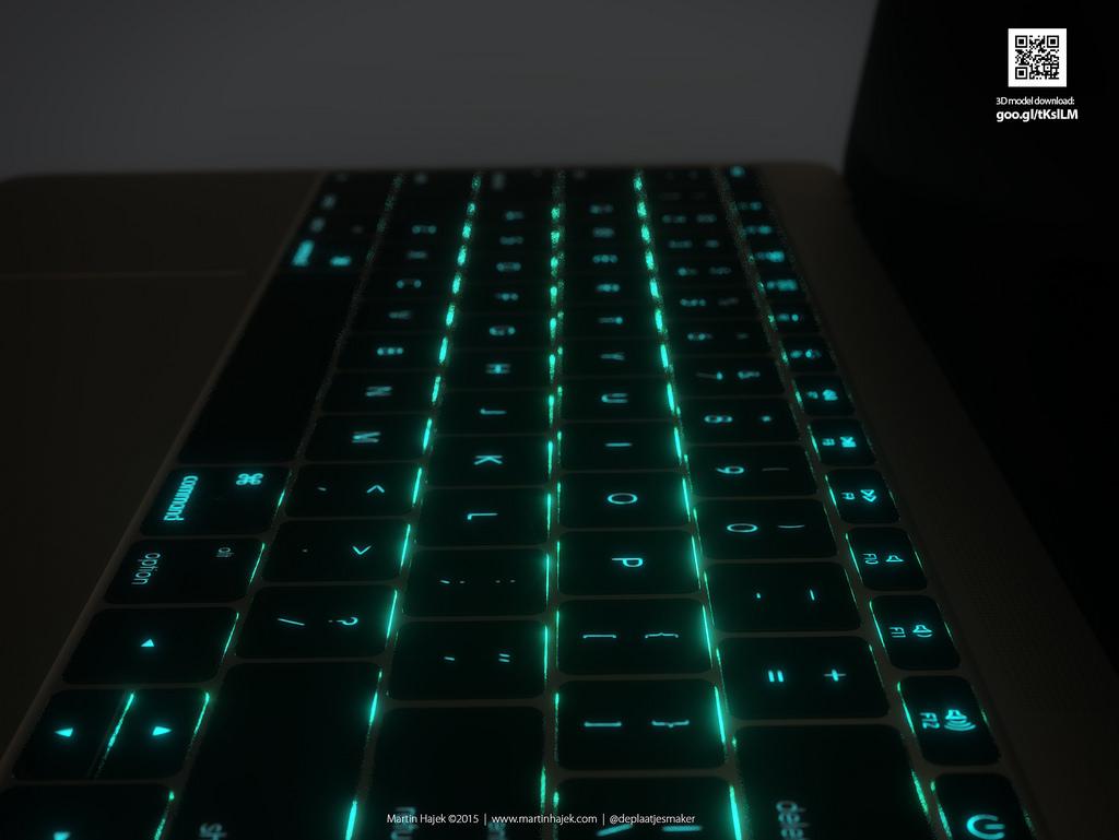 Клавиатура 12-дюймового MacBook