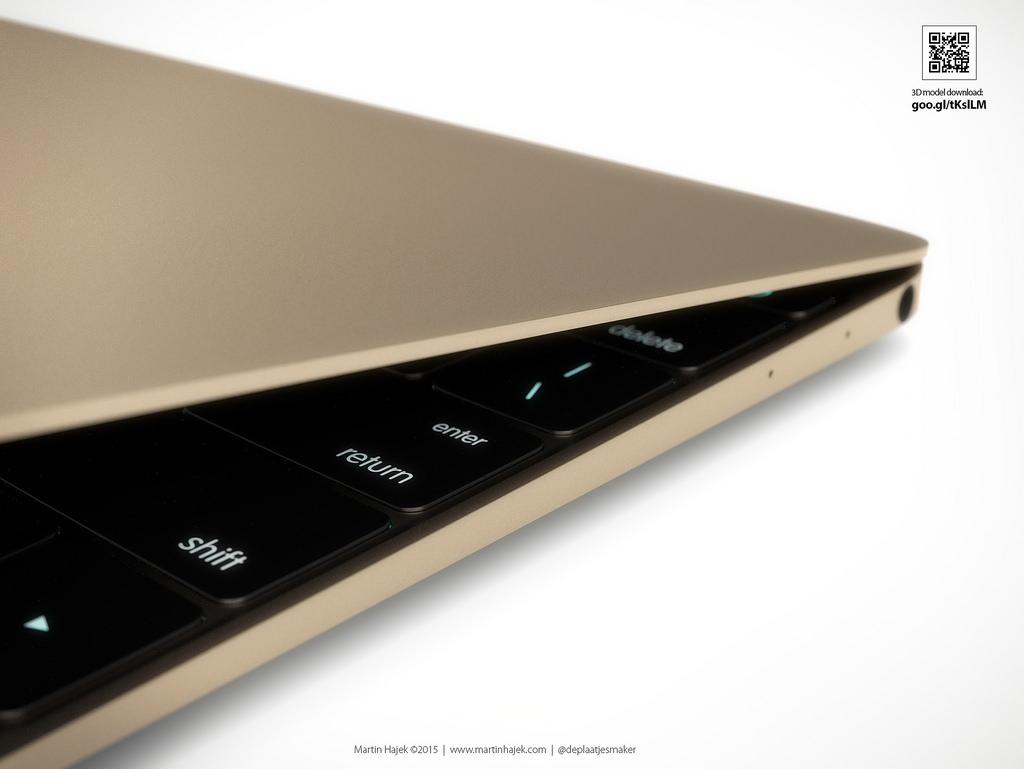 Золотой 12-дюймовый MacBook