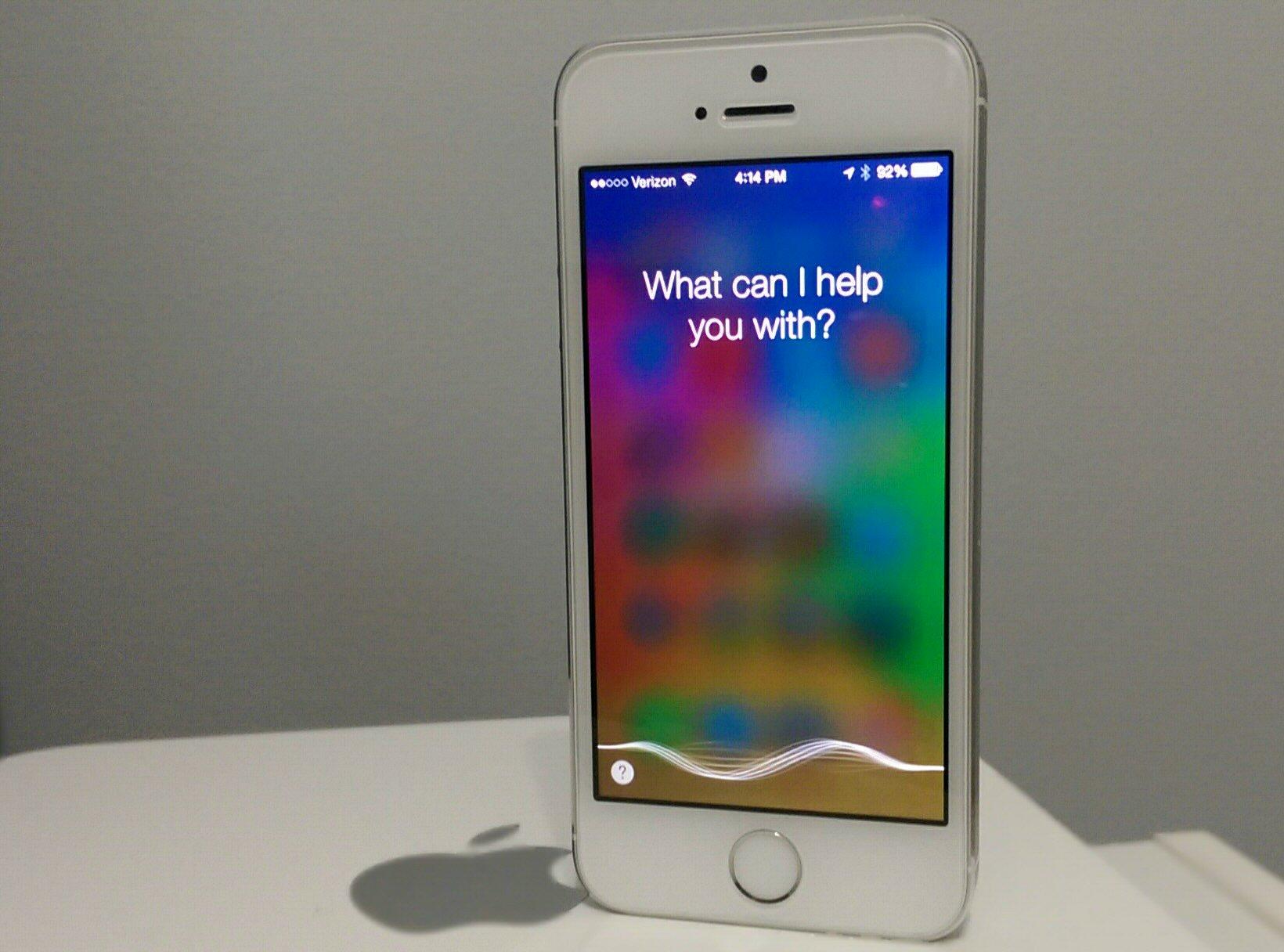 Siri на iPhone 6
