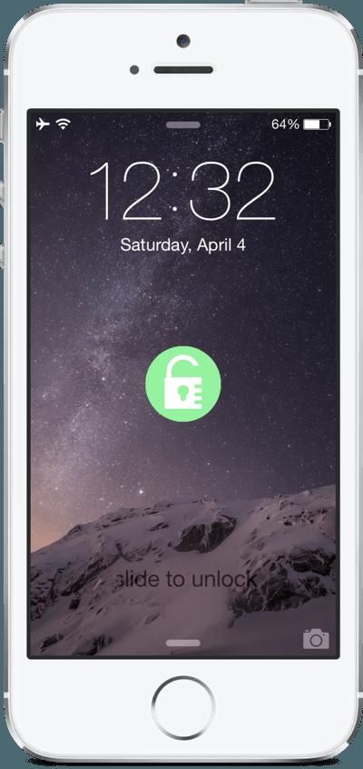 Экран блокировки iPhone 6