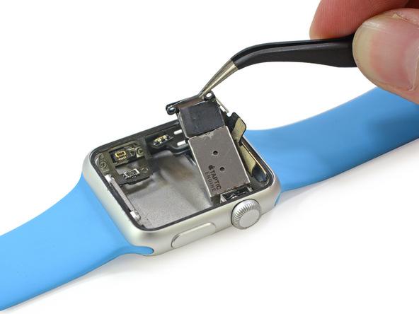 Внутреннее строение Apple Watch