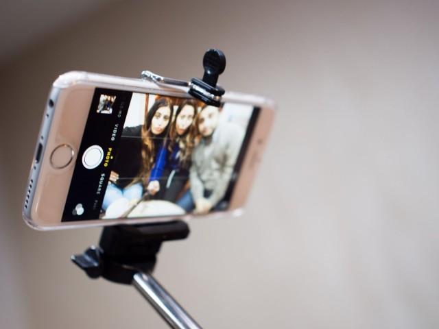 Селфи-палка для iPhone