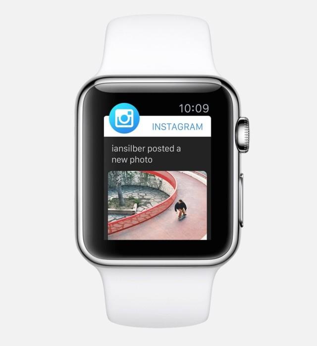 Instagram на Apple watch