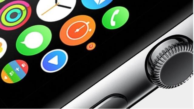 Apple Watch дисплей