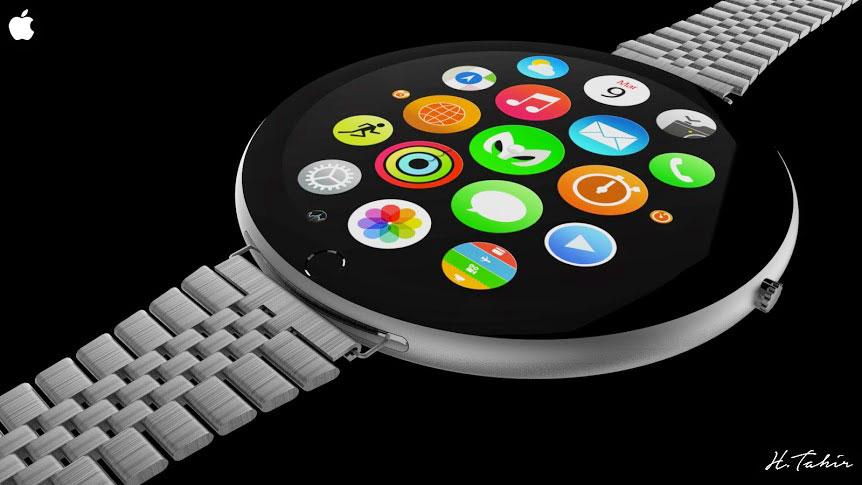 Apple Watch  с круглым дисплеем