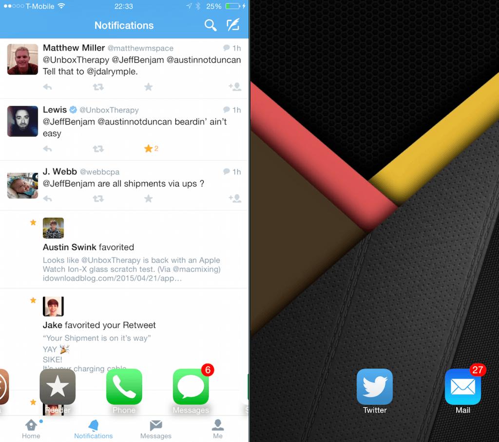 Многозадачность на iOS 8