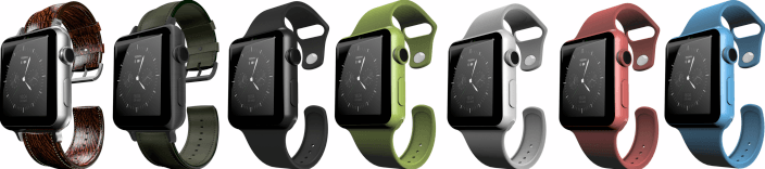 Разноцветные Apple Watch
