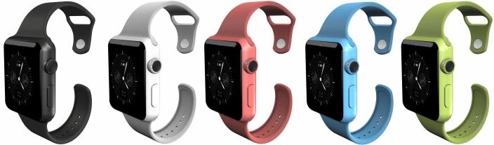 Apple Watch из поликарбоната