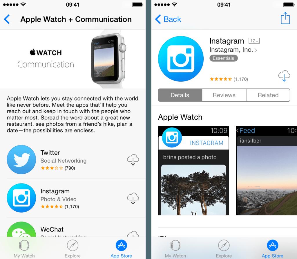 Приложение для Apple Watch