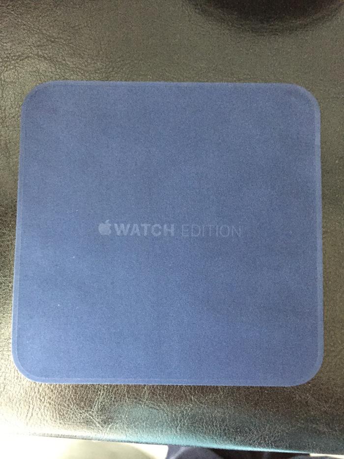 Салфетка для Apple Watch Edition