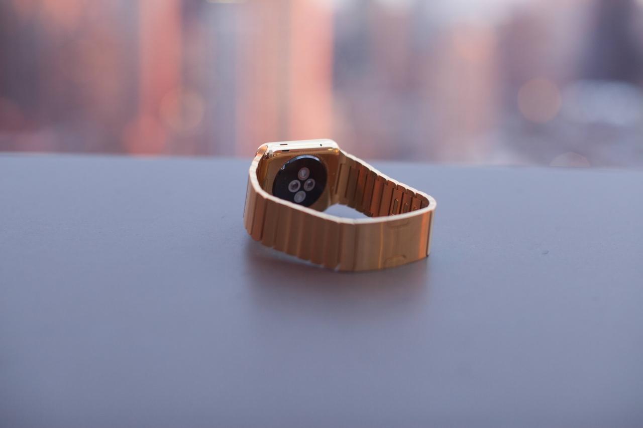 Позолоченные Apple Watch