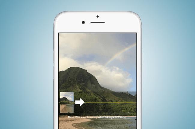 Панорамный режим на iPhone 6